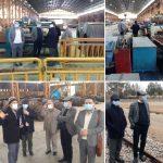 بازدید مدیرعامل هلدینگ مجتبی مهدیان ، رئیس هیات مدیره ومعاونین فولاد متیل از شرکت آهن و فولاد اصفهان