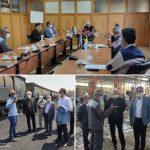 بازدید مدیرعامل محترم و معاون برنامه ریزی و امور شرکتهای فولاد متیل از شرکت آهن و فولاد اصفهان