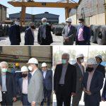بازدید مدیر عامل هلدینگ فولاد متیل از شرکت صنایع فولاد سهند آغاز تبریز