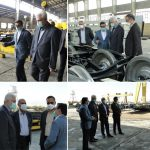 بازدید مدیر عامل هلدینگ فولاد متیل از شرکت آهن و فولاد درخشان اراک